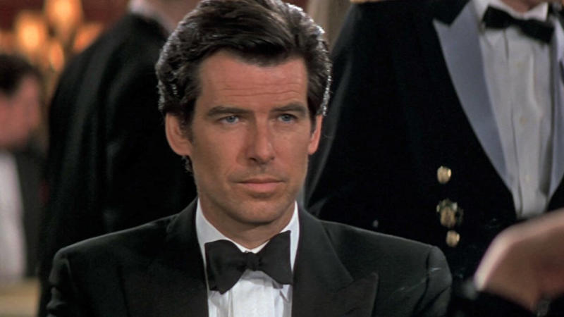 Pierce Brosnan as James Bond in 'GoldenEye'. (Credit: MGM)