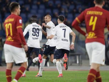 Serie A: Musa Barrow's brace guides Bologna to 3-2 win over Roma as crisis deepened at Italian club