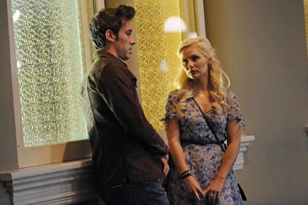 "Sam Palladio and Clare Bowen in the ""Nashville"" episode, ""Lovesick Blues."""