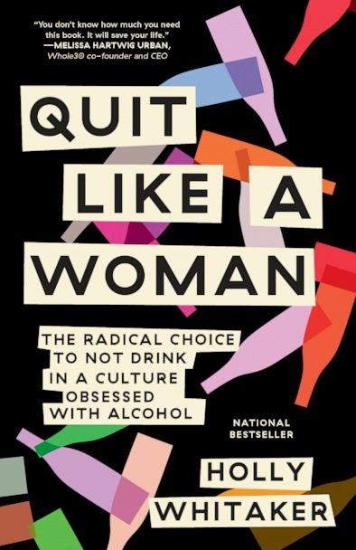 PHOTO: The book cover of 'Quit Like A Woman' by Holly Whitaker. (Dial Press)