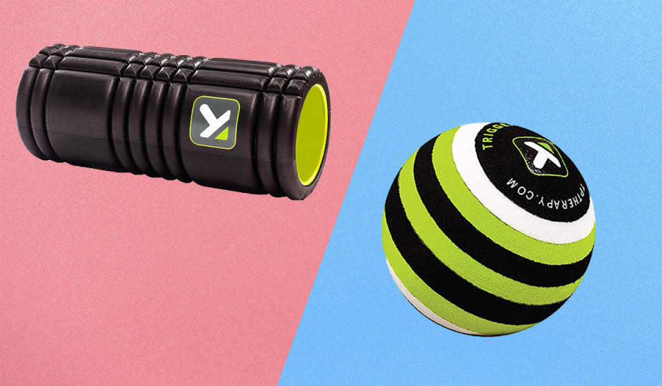 Roll away pain and discomfort with these genius fitness tools. (Photo: Amazon)