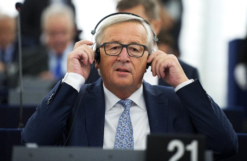 European Commission President Jean-Claude Juncker has reaffirmed the EU aim of being 'at the forefront of the fight against climate change' (AFP Photo/PATRICK HERTZOG)