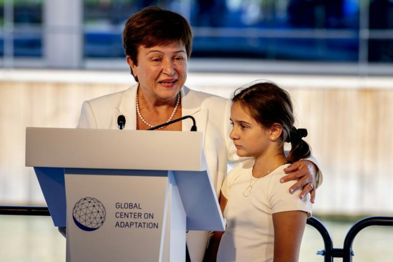IMF chief Kristalina Georgieva could see confidence in her leadership eroded due to charges she pressured staff to manipulate a flagship World Bank report to help China (AFP/Robin UTRECHT)