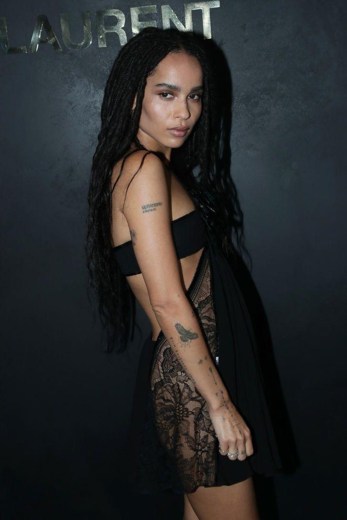 """<p>In a 2018 <a href=""""https://www.rollingstone.com/movies/movie-features/zoe-kravitz-naked-cover-story-746684/"""" rel=""""nofollow noopener"""" target=""""_blank"""" data-ylk=""""slk:Rolling Stone"""" class=""""link rapid-noclick-resp""""><em>Rolling Stone</em></a> profile, Zoë's mom, Lisa Bonet, praised her Sagittarian traits. """"She's a Sagittarius, so she's always had that charm and swagger,"""" she said.</p>"""