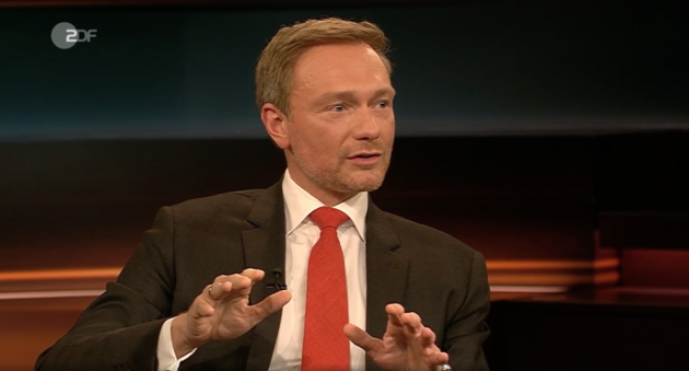 FDP-Chef Christian Lindner bei