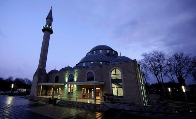 <b>DUISBURG, GERMANY:</b> A general view of the DITIB-Merkez Mosque in Duisburg, Germany. It is Germany's fourth largest mosque, capable of accommodating 1,200 worshippers.