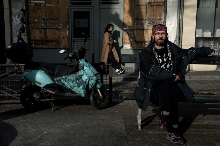 Christian Page has garnered nearly 20,000 Twitter followers for his posts criticizing anti-vagrancy measures and appealing for help for the homeless