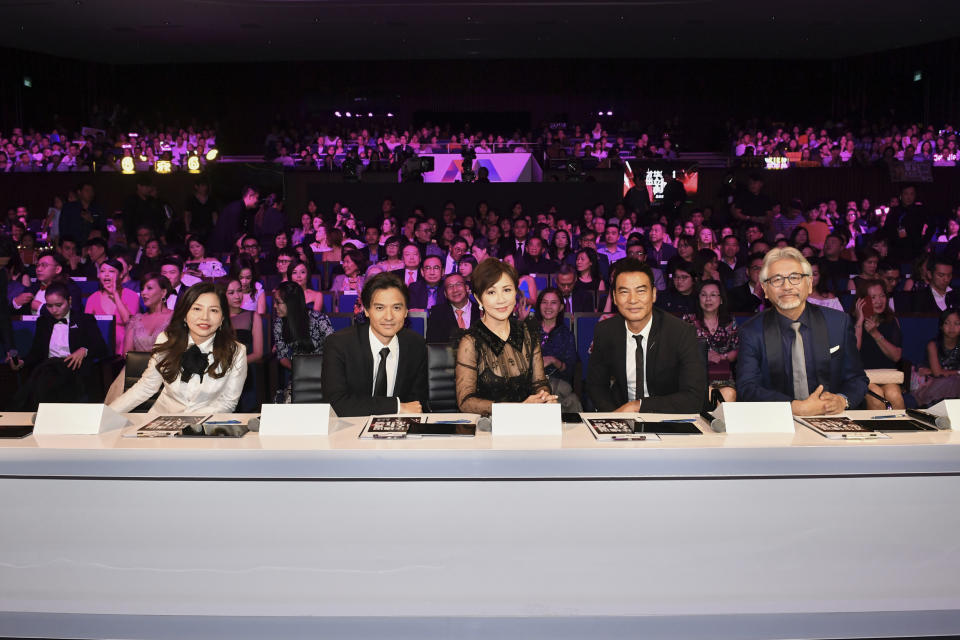 The judges at Star Search 2019. (PHOTO: Mediacorp)