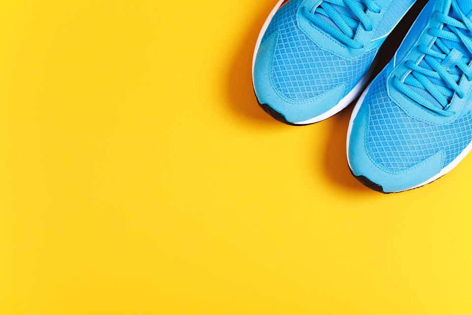 Sport objects background TIME health stock