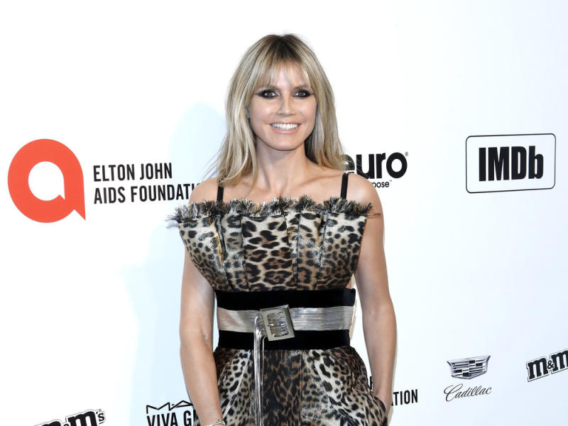 Heidi Klum bei Elton Johns legendärer Oscar-Party (Bild: carrie-nelson/ImageCollect)