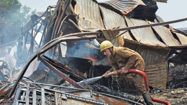 The Delhi Fire Service has sent a letter to the engineer-in-chief of the Public Works Department (PWD) to ensure that fire safety certificates are issued to these buildings.