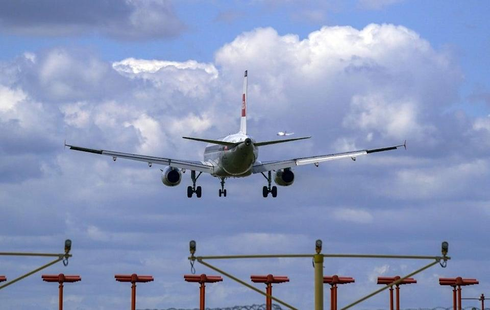 Passengers returning from non-red list locations do not have to quarantine (PA) (PA Wire)