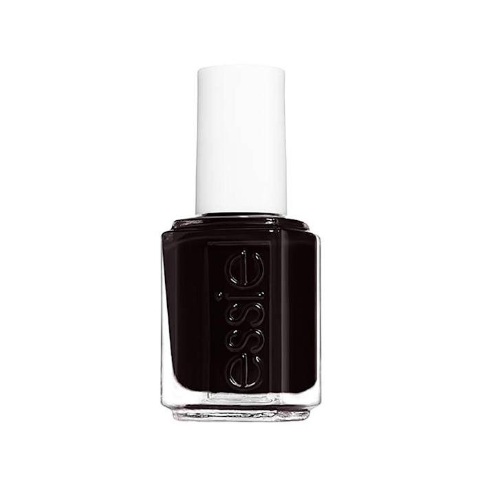"<p>A dark, nearly black shade of brown adds an element of mystery to your manicure. An example of this is Essie Nail Enamel in Wicked, which Elle said was born from the demand for vampy shades after Chanel Le Vernis in Vamp had initially sold out.</p> <p><strong>$9</strong> (<a href=""https://shop-links.co/1692775525655469388"" rel=""nofollow noopener"" target=""_blank"" data-ylk=""slk:Shop Now"" class=""link rapid-noclick-resp"">Shop Now</a>)</p>"