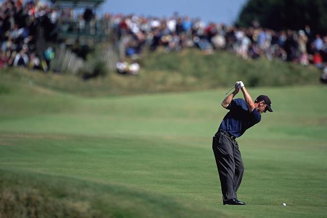 "<h1 class=""title"">David Duval</h1> <div class=""caption""> 22 Jul 2001: David Duval of the USA in action during the 130th British Open Championship held at the Royal Lytham and St Annes Golf Club in England. Mandatory Credit: Stephen Munday/Allsport </div> <cite class=""credit"">Stephen Munday</cite>"