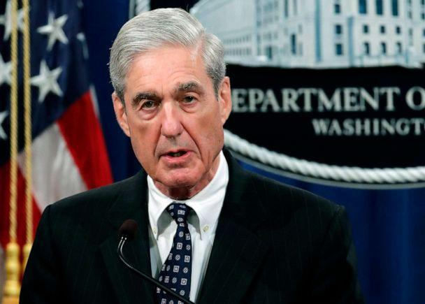 PHOTO: Special counsel Robert Mueller speaks at the Department of Justice, May 29, 2019, in Washington, DC, about the Russia investigation. (Carolyn Kaster/AP, FILE)