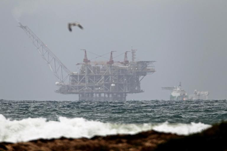 Israel hopes that its offshore Leviathan field will enable it to become a significant natural gas exporter for the first time (AFP Photo/JACK GUEZ)