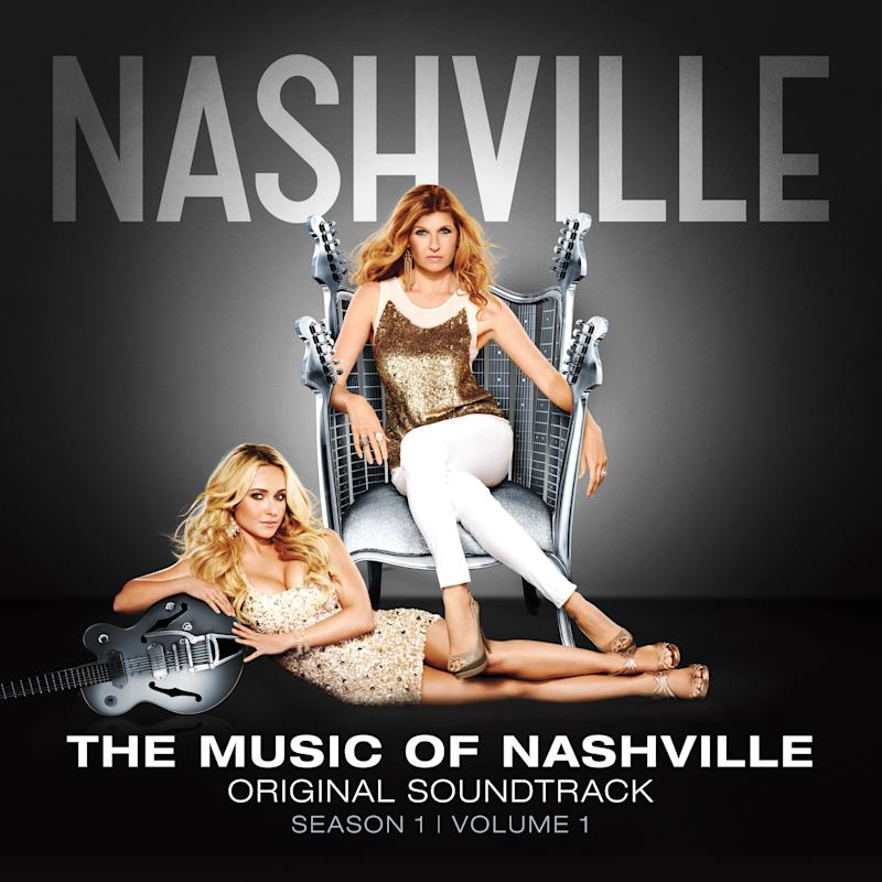 """This undated publicity photo provided by  Big Machine Records shows the soundtrack album cover for """"Nashville,"""" season 1, volume 1, the music of Nashville. (AP Photo/Big Machine Records)"""