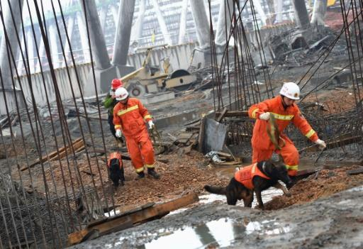 China charges 10 in power plant collapse that killed 74