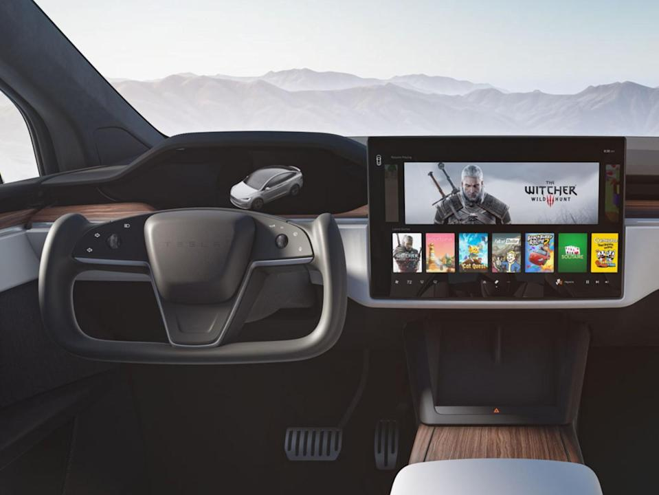 refreshed Model S and Model X new infotainment systems