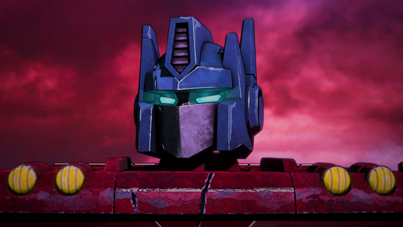 Optimus Prime (Jake Foushee) makes hard decisions in Transformers : War for Cybertron Trilogy. (PHOTO: Netflix)