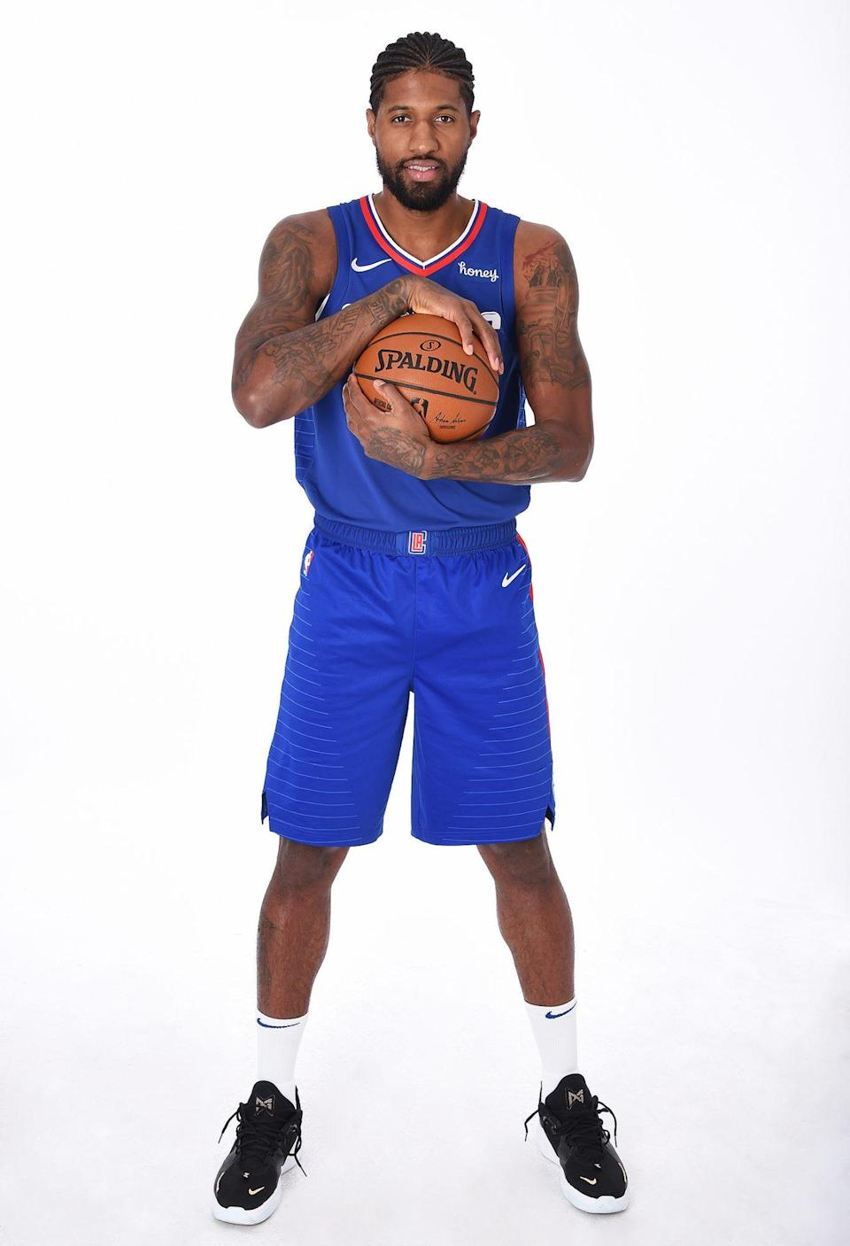 <p>George, who plays for the Los Angeles Clippers, is a seven-time All-Star like his Team LeBron teammate Stephen Curry.</p>