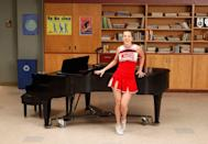 """<p>""""I thought it would be funny to play her like Karen,"""" Morris told <a href=""""https://www.tvguide.com/news/glee-heather-morris-britney-1023709/"""" rel=""""nofollow noopener"""" target=""""_blank"""" data-ylk=""""slk:TV Guide"""" class=""""link rapid-noclick-resp"""">TV Guide</a>. """"If you watch a sitcom and see a dumb girl, the actress is usually overplaying her dumbness. With Karen, she legitimately doesn't understand. She's like a little kid who says, 'I don't get it.' It's funnier to me to play Brittany as not super stupid, but really innocent.""""</p>"""