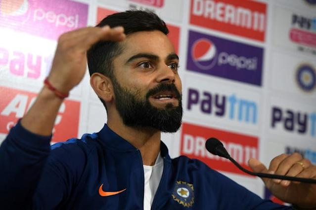 Kohli will return to lead the limited-overs side against the Windies (AFP Photo/Dibyangshu SARKAR)