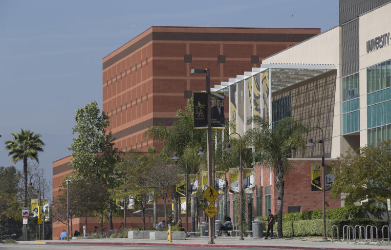 Hundreds of students and staff at two Los Angeles universities including Cal State University have been placed under quarantine because they