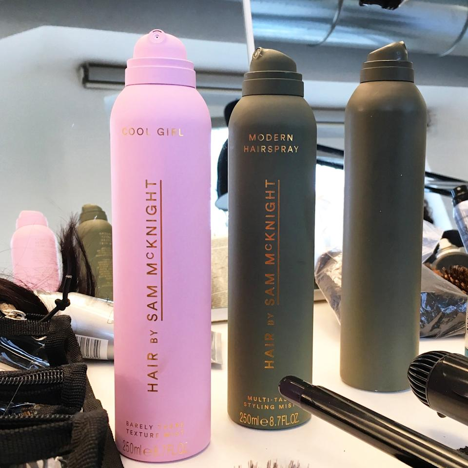 """<p>With more than 190 international <em>Vogue</em> cover credits to his name, Scottish hairstylist Sam Knight is by far one of the greats in the industry. So it's no surprise that his Hair by <a rel=""""nofollow"""" href=""""http://www.allure.com/story/hair-by-sam-mcknight-debuts-at-milan-fashion-week?mbid=synd_yahoobeauty"""">Sam McKnight Cool Girl Spray</a> is one of the most anticipated launches of the year. His products (which also includes his Modern Hairspray) aren't coming to the U.S. until the end of the year, but if you live in London you're in luck. They're heading your way in May.</p><p>""""We call [Hair by Sam McKnight Cool Girl Spray] the barely-there mist, """" McKnight told <em>Allure</em> at Max Mara's fall 2017 show.</p><p>We can barely hold in our excitement.</p>"""