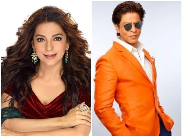 Juhi Chawla and Shah Rukh Khan (Image courtesy: Instagram)