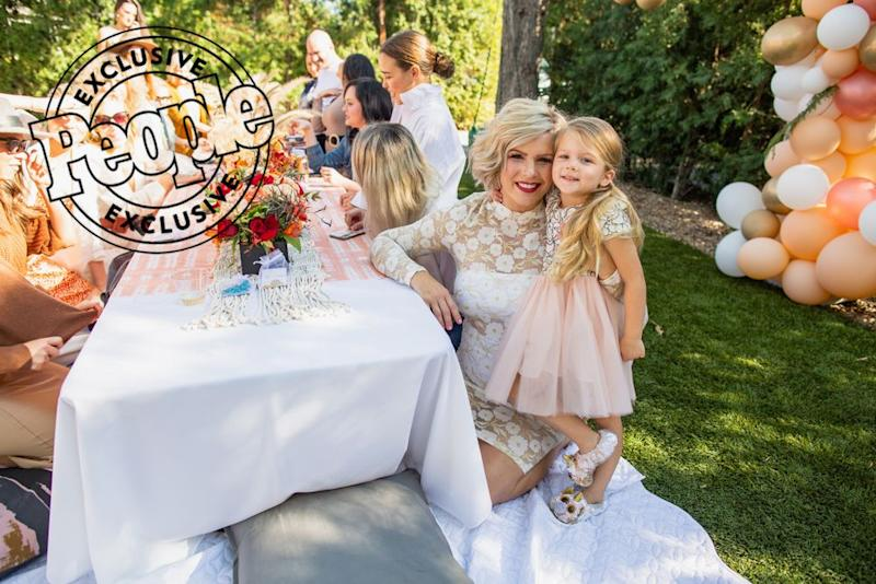 Kimberly Caldwell's baby shower | Linger Photography