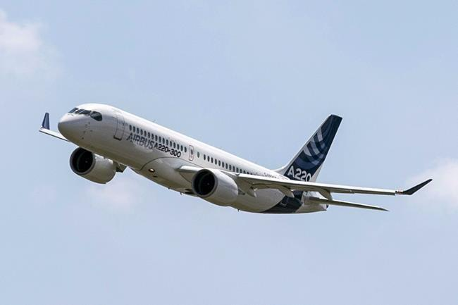 Air Canada launches routes with fuel-efficient A220 to seize U.S. market share