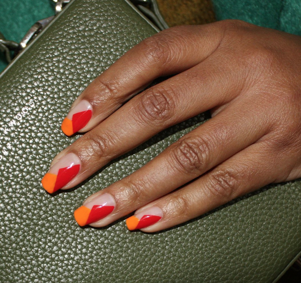 Bright shades. Bold shapes. What's not to love?
