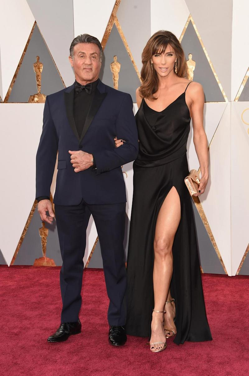 Accused: Sylvester Stallone and wife Jennifer Flavin (Getty Images)