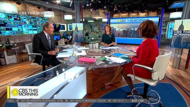 PHOTO: Charlie Rose speaks on CBS's 'This Morning' with Gayle King and Norah O'Donnell, Nov. 21, 2017. (CBS)