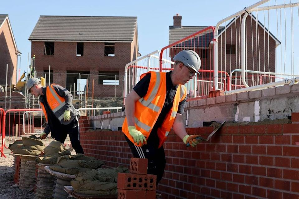 Housebuilding giant Barratt Developments has seen annual profits soar nearly two-thirds higher, but revealed rising build costs and a dip in recent buyer demand following the stamp duty deadline (Jonathan Buckmaster/Daily Express/PA) (PA Wire)