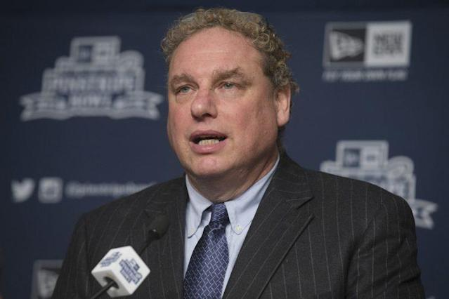 Yankees president Randy Levine has had a sudden change of heart about Dellin Betances. (AP)