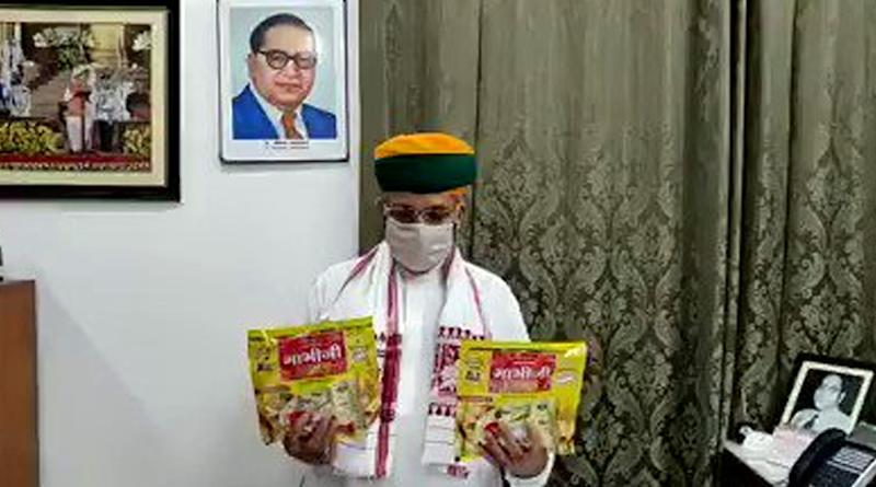 Arjun Ram Meghwal, Union Minister, Launches 'Bhabhi Ji Papad', Claims 'It Can Be Very Helpful in Fighting Coronavirus', Watch Video