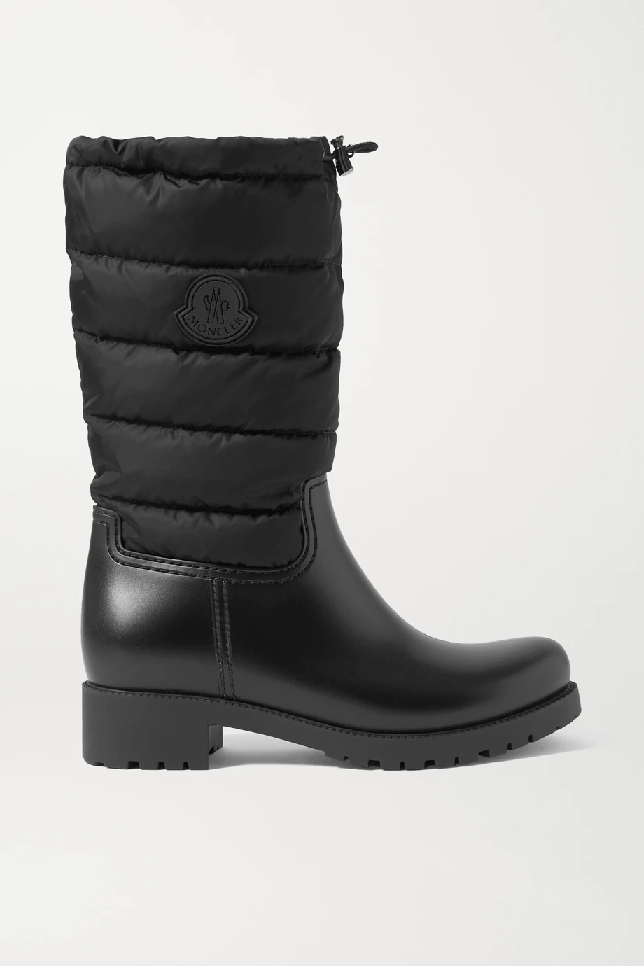 "<br><br><strong>Moncler</strong> Ginette Quilted Nylon And Rubber Rain Boots, $, available at <a href=""https://go.skimresources.com/?id=30283X879131&url=https%3A%2F%2Fwww.net-a-porter.com%2Fen-us%2Fshop%2Fproduct%2Fmoncler%2Fginette-quilted-nylon-and-rubber-rain-boots%2F1257857"" rel=""nofollow noopener"" target=""_blank"" data-ylk=""slk:Net-A-Porter"" class=""link rapid-noclick-resp"">Net-A-Porter</a>"
