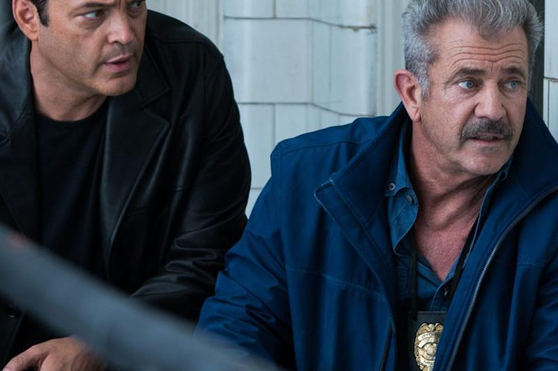 Vince Vaughan and Mel Gibson in Dragged Across Concrete