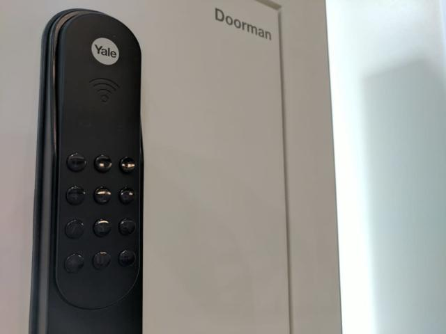 Yale's Doorman lock lets you set a password that your delivery person can use to drop your packages in your house.
