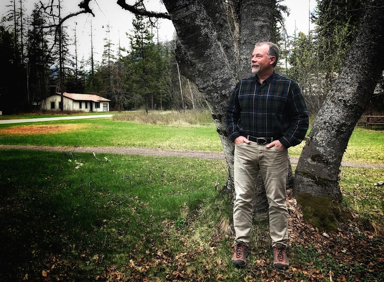 Dan Fagre, a research ecologist with the U.S. Geological Survey, studies climate change at Glacier National Park. (Photo: Holly Bailey/Yahoo News)