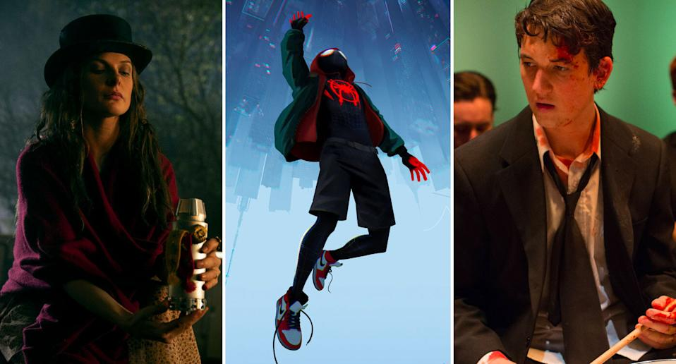 Doctor Sleep, Spider-Man: Into The Spider-Verse, Whiplash.