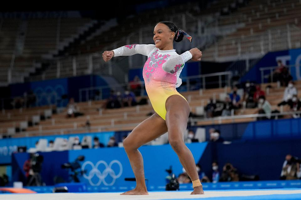 Tokyo Olympics Artistic Gymnastics (Copyright 2021 The Associated Press. All rights reserved)