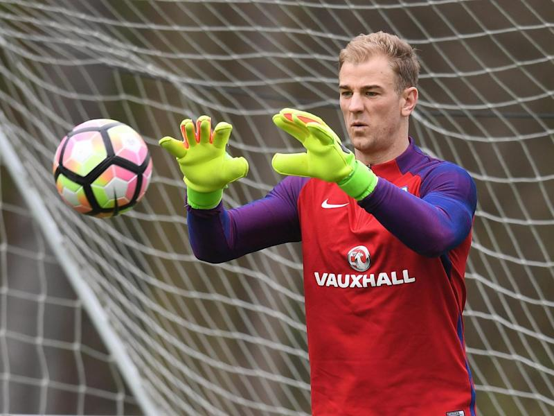 Hart would consider a move to Old Trafford (Getty)