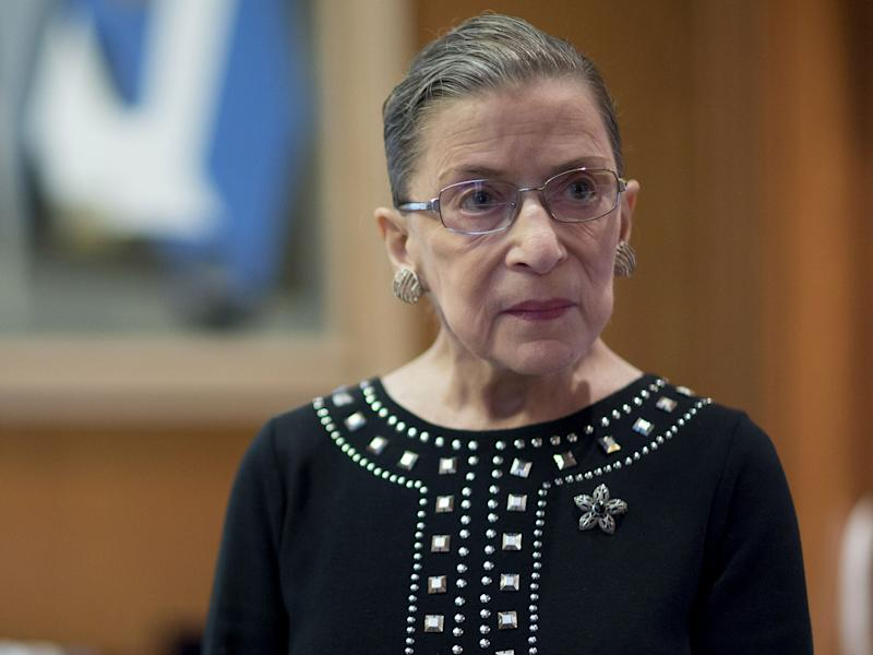 Ginsburg Hints at Sharp Divides as Supreme Court Term Nears End