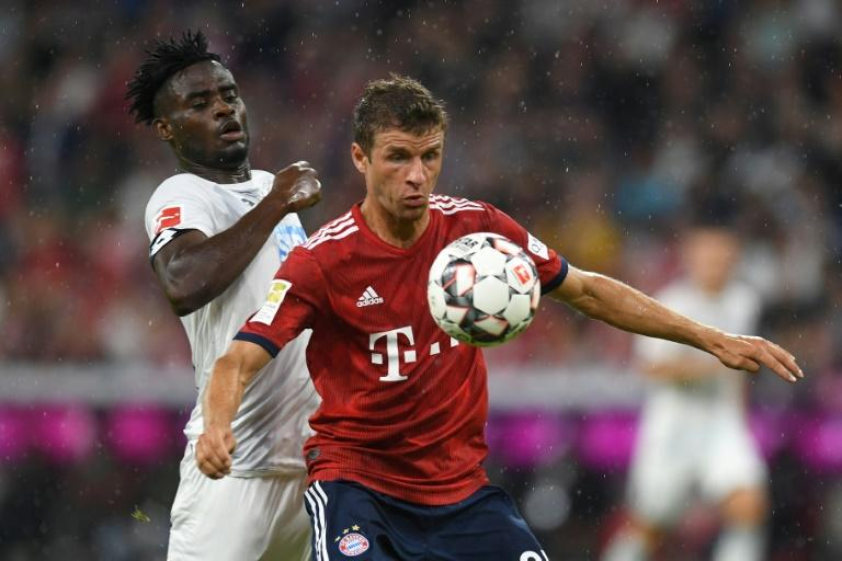 Thomas Mueller looks to have rediscovered his form after a poor World Cup with an impressive display, including a goal and assist, against Hoffenheim on Friday
