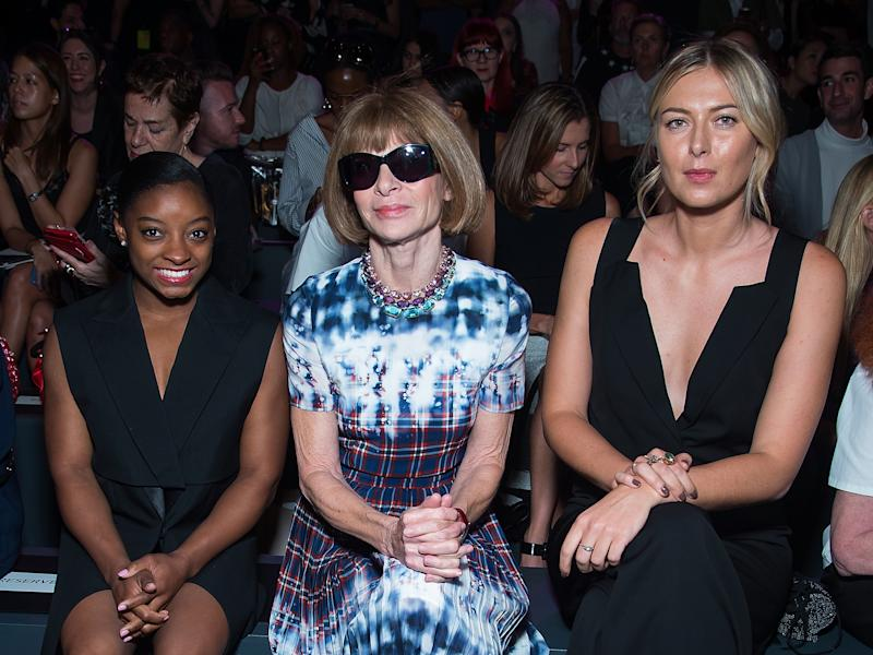 Picture of Simone Biles Anna Wintour