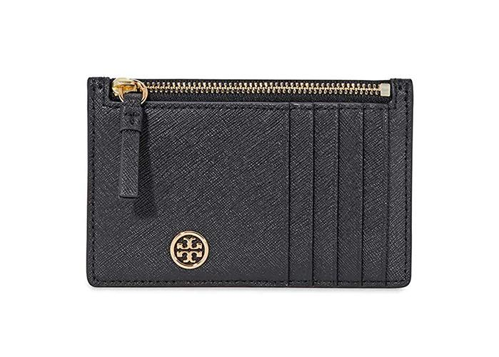 Tory Burch designs are classic and timeless, like this compact card case. (Photo: Amazon)
