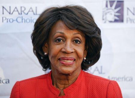 Congresswoman Maxine Waters arrives at the National Abortion and Reproductive Rights Action League Pro-Choice America's 2012 Los Angeles Power of Choice Reception in West Hollywood, California May 24, 2012. REUTERS/Gus Ruelas